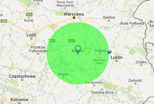 wulkanizacja radom - obszar działania